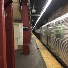 New York City Subway Series:  Journaling