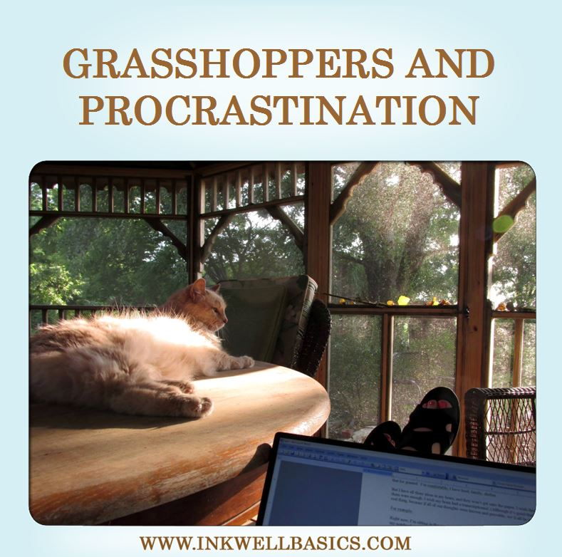 grasshoppers and procrastination